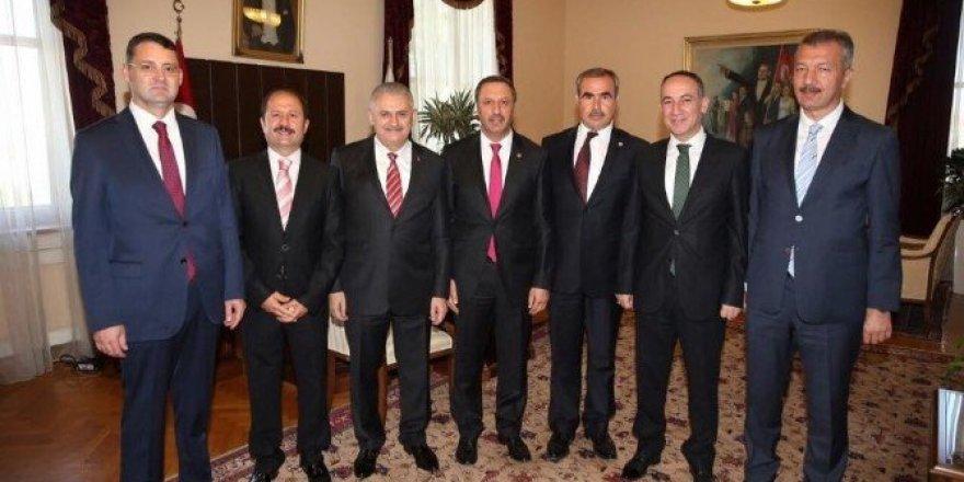 Kırıkkale Protokolünden Başbakan'a ziyaret