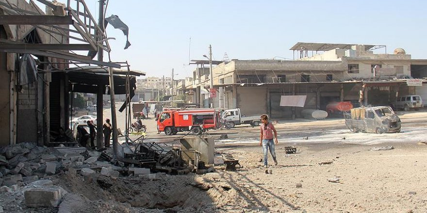İdlib'e hava saldırısı: 15 ölü, 23 yaralı