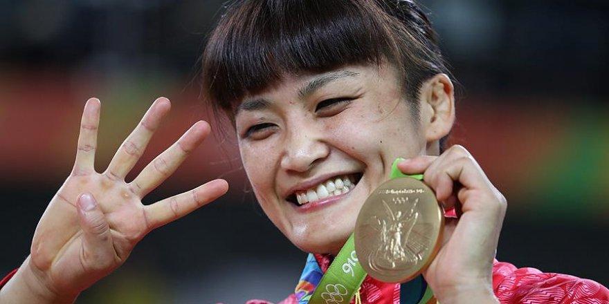 Japon Icho Rio'da güreş tarihine geçti