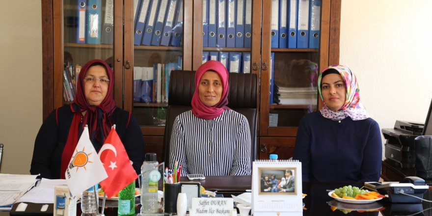 AK Parti Konya Kadın Kollarında istişare toplantısı