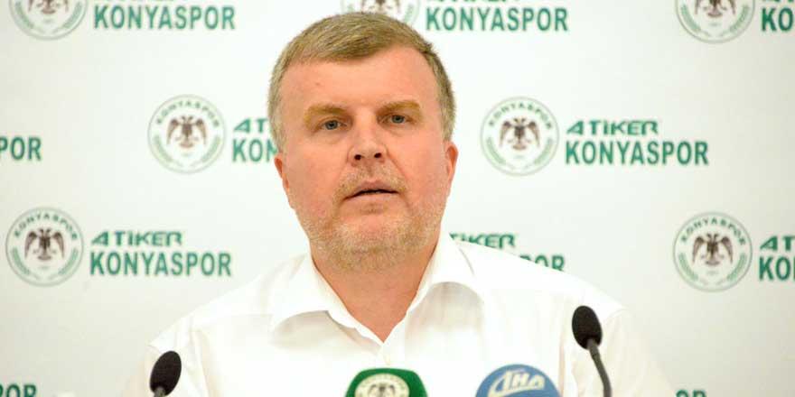 Konyaspor Başkanı Ahmet Şan'dan transfer açıklaması