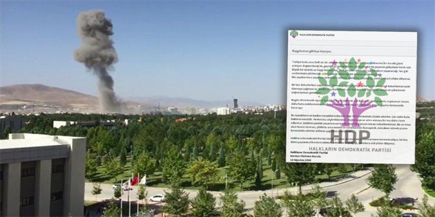 HDP, PKK'yla aynı dili kullandı