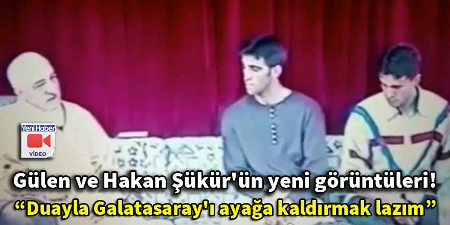 Terörist Gülen ve Hakan Şükür'ün yeni görüntüleri!