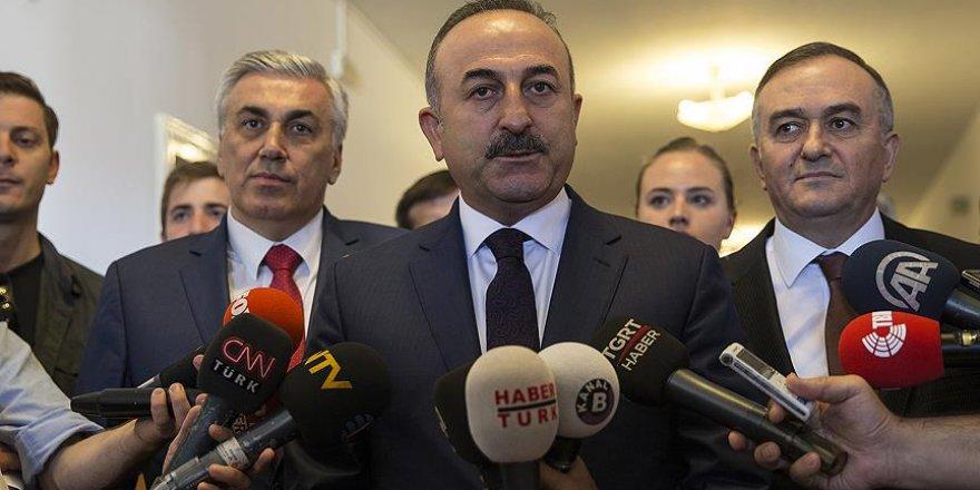 Çavuşoğlu: Rusya'nın katkısı olmadan Suriye'de kalıcı bir çözüm olmaz