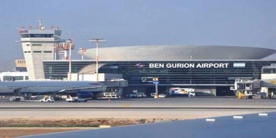 İsrail'in Ben Gurion Havalimanında acil durum
