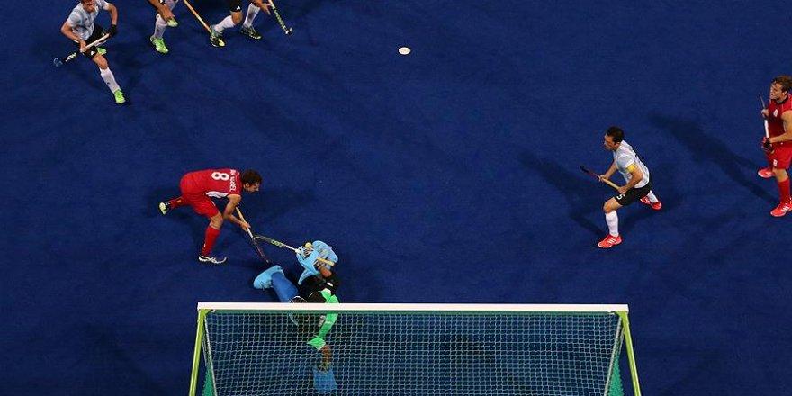 Erkekler hokeyde Arjantin altın madalya kazandı