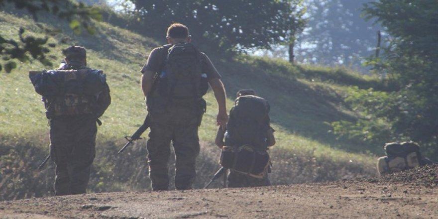 Ordu'da teröristlerle çatışma çıktı