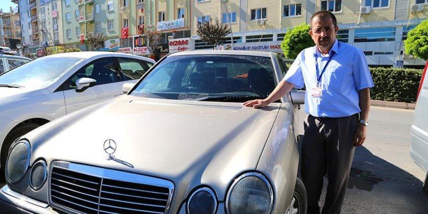 Firari emniyet müdürünü ihbar edene otomobil!