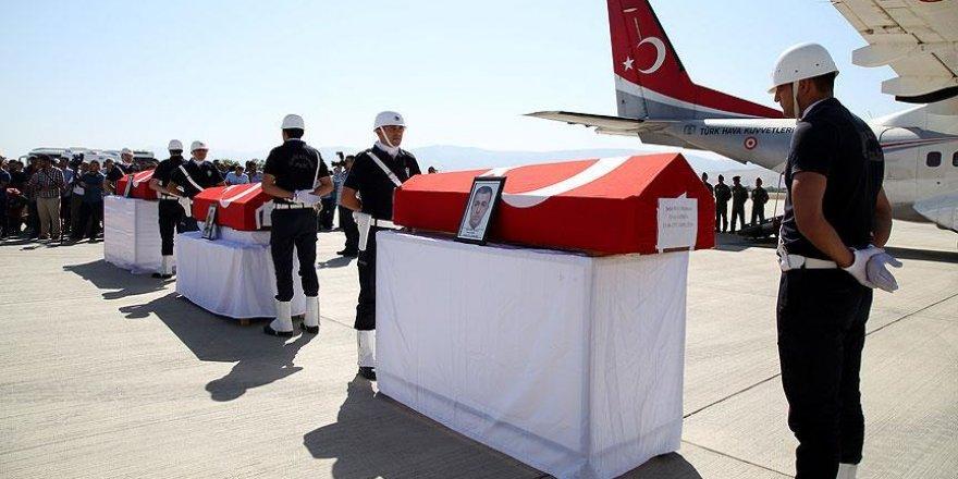 Elazığ'da şehitler için tören