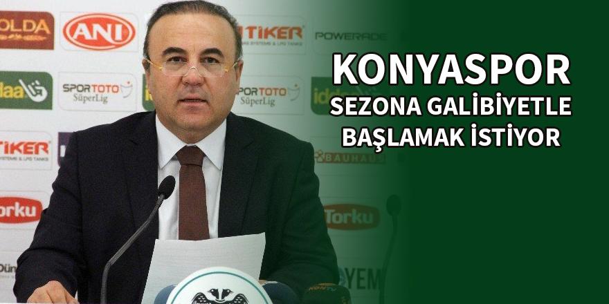Atiker Konyaspor sezona galibiyetle başlamak istiyor