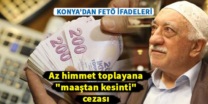 """Az himmet toplayana """"maaştan kesinti"""" cezası"""