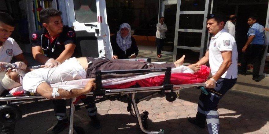 IŞİD ile muhaliflerin çatışmasında yaralanan 7 kişi Kilis'e getirildi
