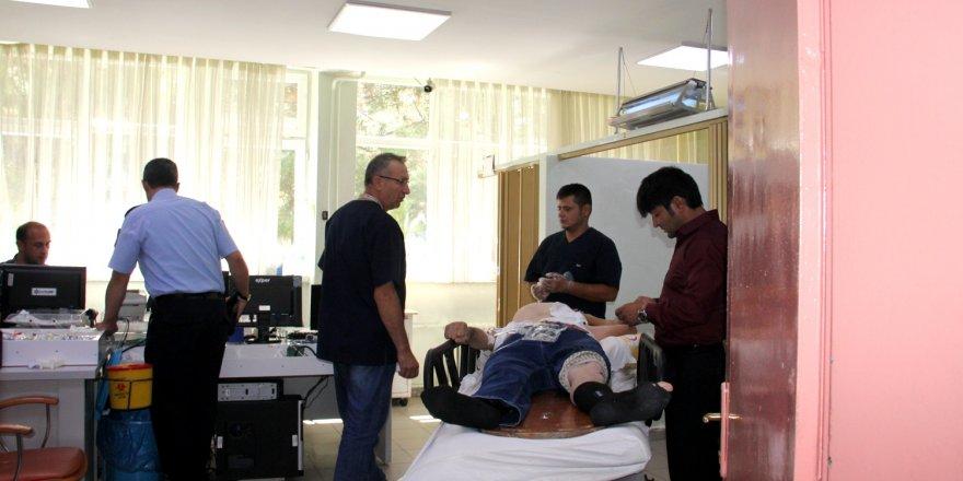 Seydişehir'de motosiklet kazası: 1 yaralı