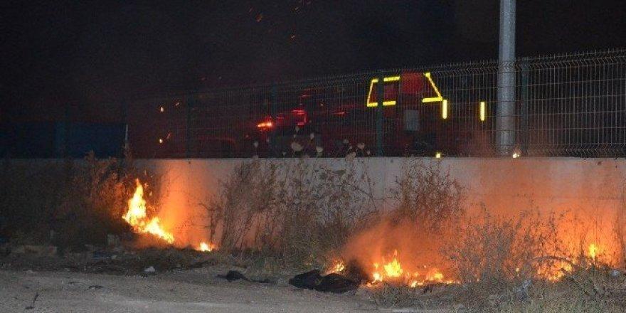 Bandırma'da AVM'de çıkan yangın korkuttu