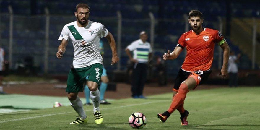 Bursaspor lige üç puanla başladı