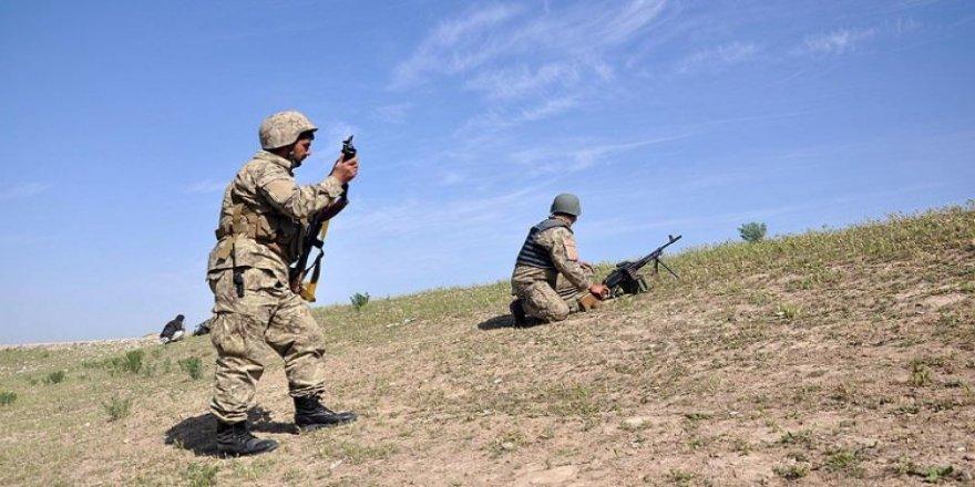 Ağrı'da çatışma! 1 PKK'lı terörist öldürüldü