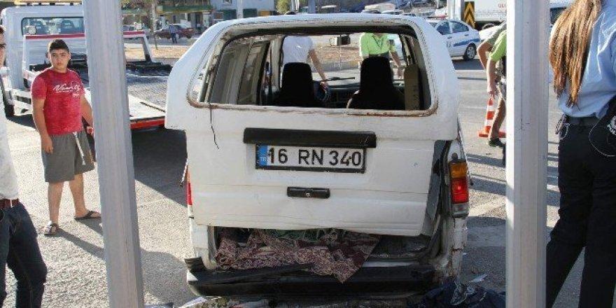 Yozgat'ta trafik kazası: 6 yaralı