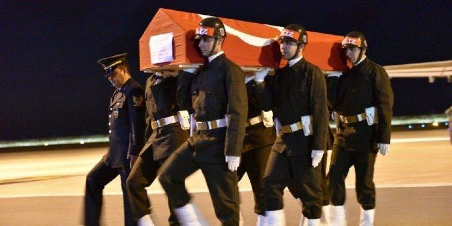 Şehit Uzman Çavuş Demirkaya'nın cenazesi Ordu'ya getirildi