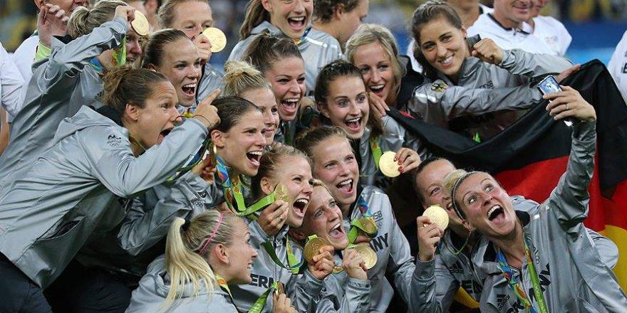 Futbolda kadınlar kategorisinde zafer Almanya'nın