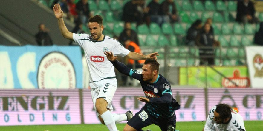 Çaykur Rizespor - Atiker Konyaspor muhtemel 11'ler