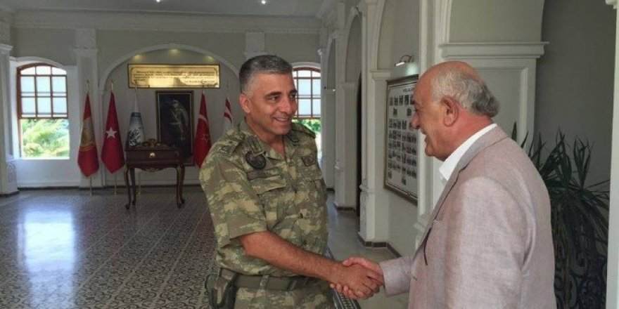 Başkan Dingil'den Tuğgeneral Olgay'a ziyaret