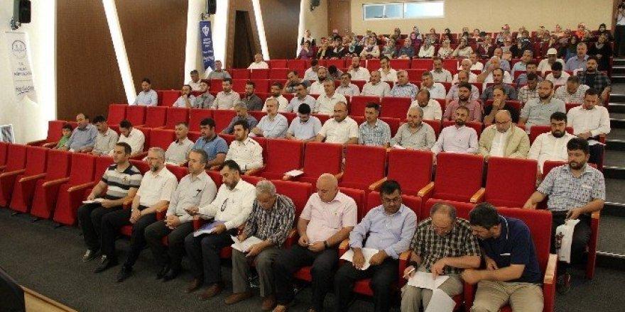 İl Müftüsü Güven Talas İlçe Müftülüğü personel toplantısına katıldı