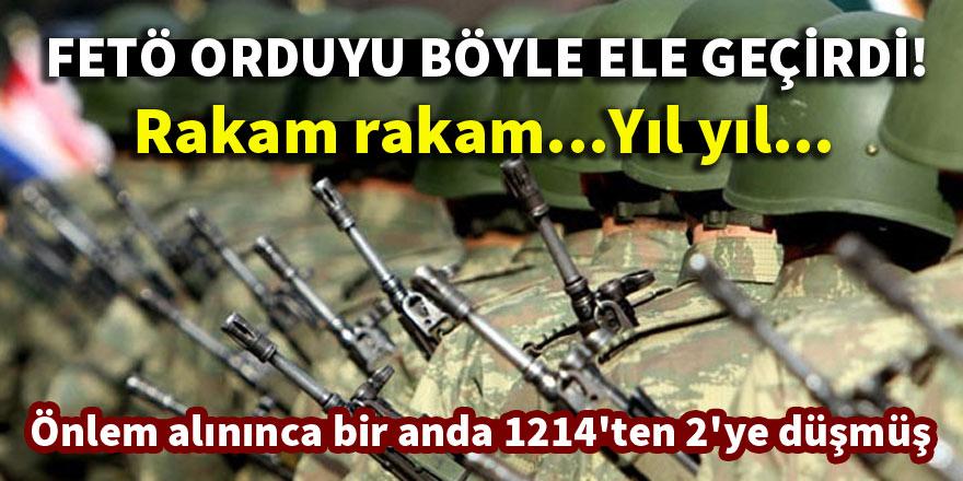 FETÖ Türk ordusunu böyle ele geçirdi!