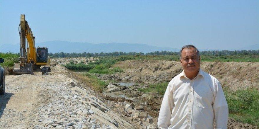 Büyük Menderes Nehri'nin ıslahı Ege Denizi'ne ulaşmak üzere