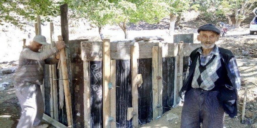 Göller Çeşmesi'nde bakım ve onarım çalışması