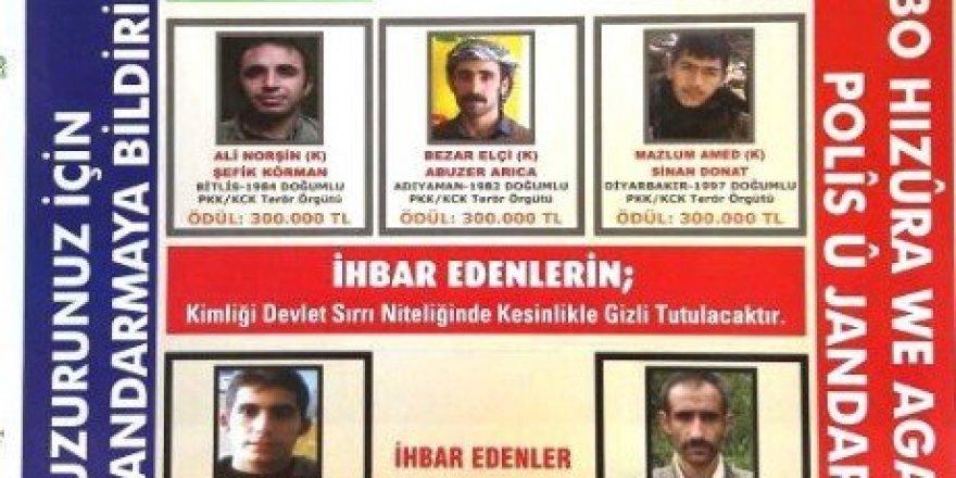 Genişletilmiş terörist listesi yayınlandı