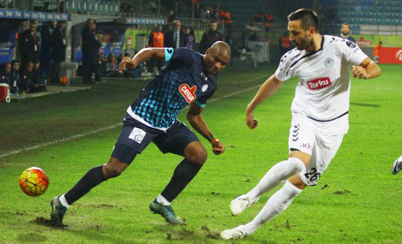 Rizespor-Konyaspor ilk 11'ler belli oldu!