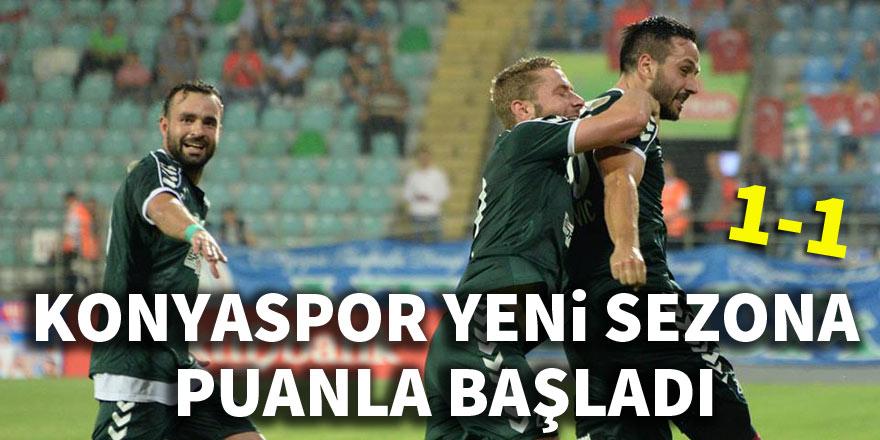 Çaykur Rizespor 1-1 Atiker Konyaspor