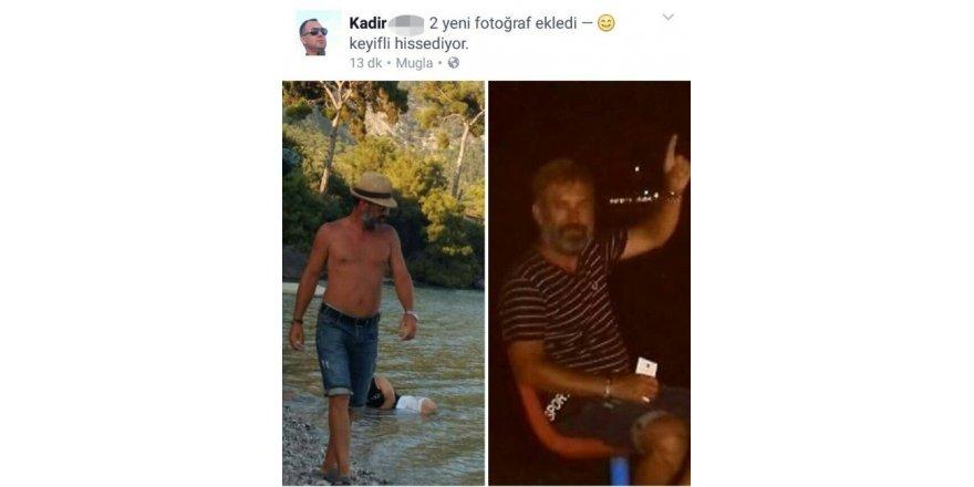 Eşini öldüren zanlının sosyal medyada paylaştığı fotoğraf yakalattı