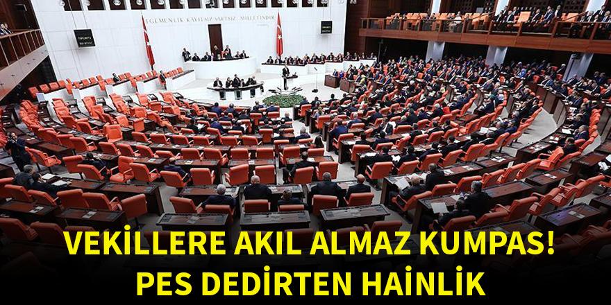 AK Partili vekillere akıl almaz kumpas