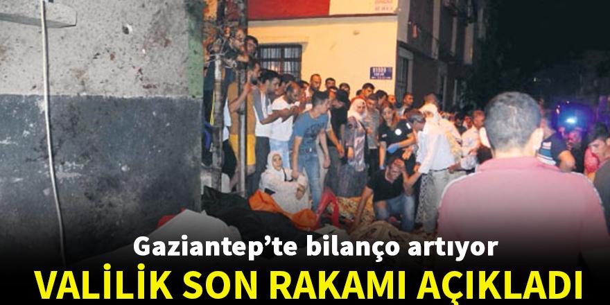 Gaziantep'te hayatını kaybedenlerin sayısı 51'e yükseldi