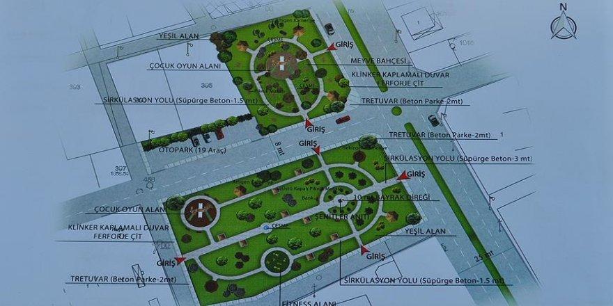 Şehit Halisdemir anısına memleketinde 8 bin metrekarelik park