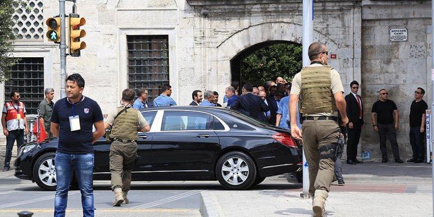 Erdoğan şehitler için gerçekleştirilen mevlit merasimine katıldı