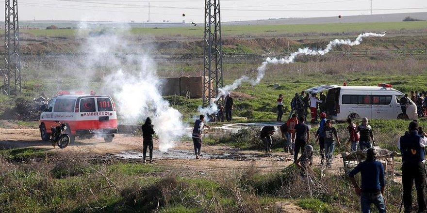 İsrail, Gazze sınırındaki bazı bölgeleri vurdu