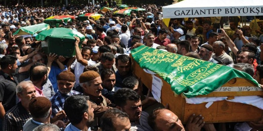 Gaziantep'teki canlı bomba saldırısında ölenlerin 29'u çocuk