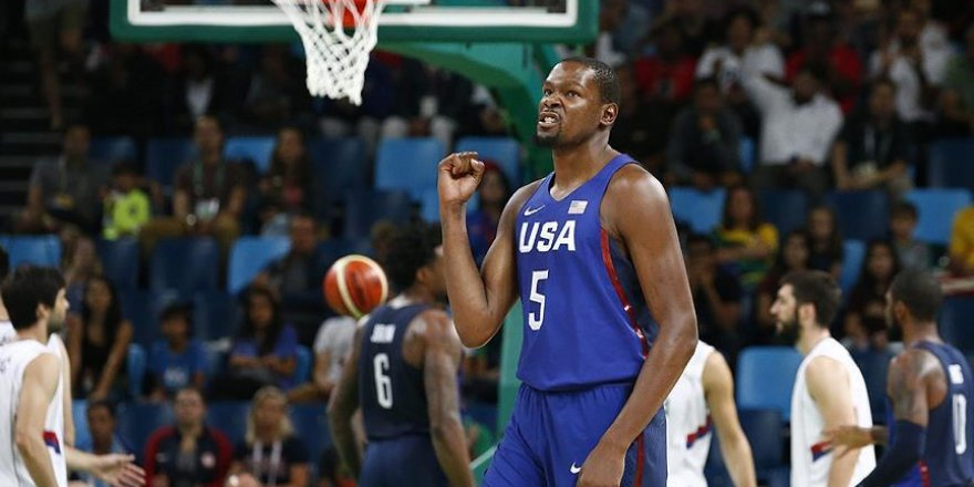 Rio'da erkekler basketbolda şampiyon ABD