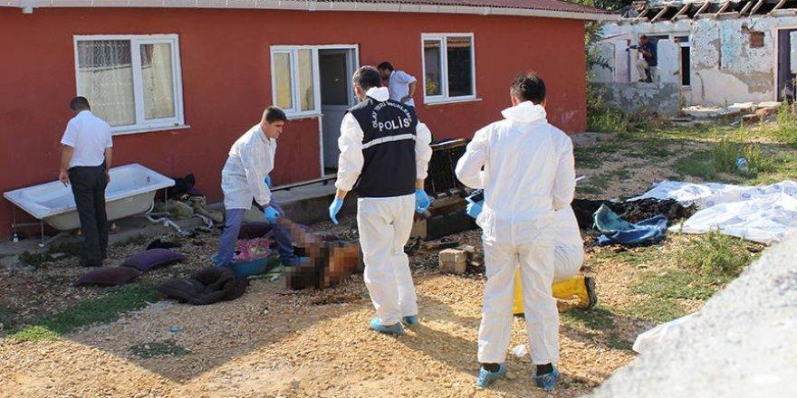 Edirne'de baba ile 3 çocuğu öldürüldü