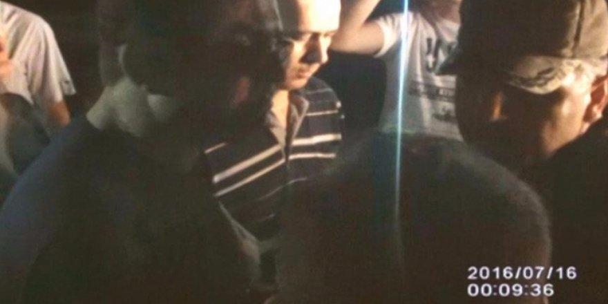 FETÖ'cü yarbayın 'vatandaşı tehdidi' kamerada