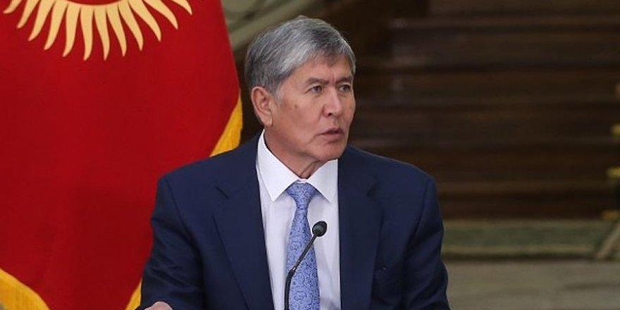 Atambayev'den Cumhurbaşkanı Erdoğan'a taziye mesajı