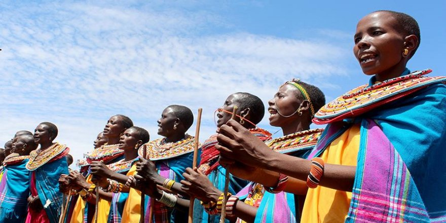 Afrika'da moda 'beyaz' olmak