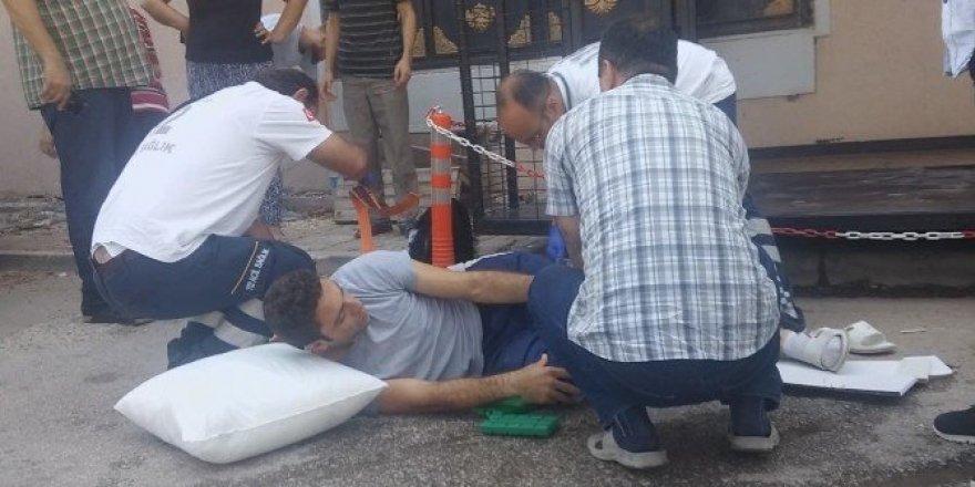 Bursa'da asansör kazası