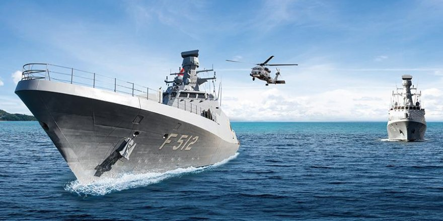 Askeri gemi ihracatında tam yol ileri