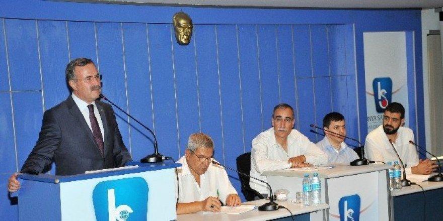 """KSO Meclisi'nden """"15 Temmuz Dayanışma Kampanyasına"""" 100 bin TL destek"""