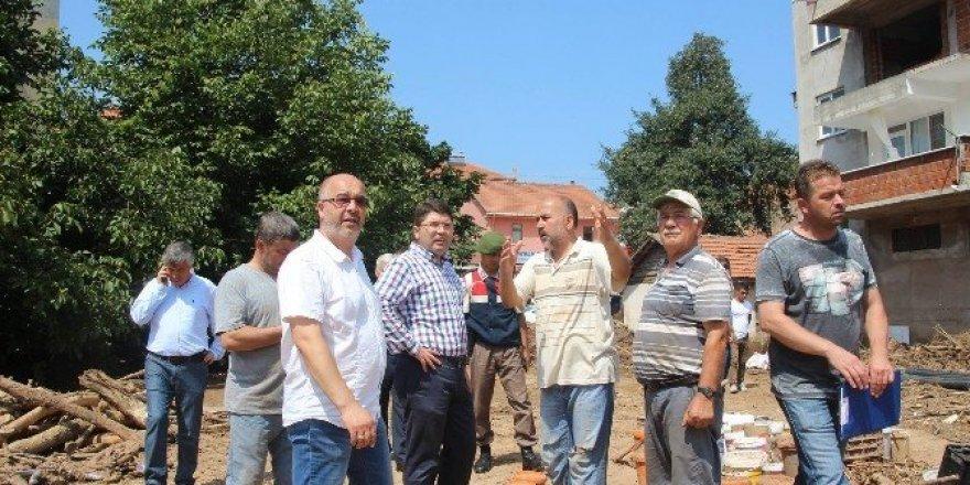 Milletvekili Tunç Kurucaşile ve köylerinde incelemelerde bulundu