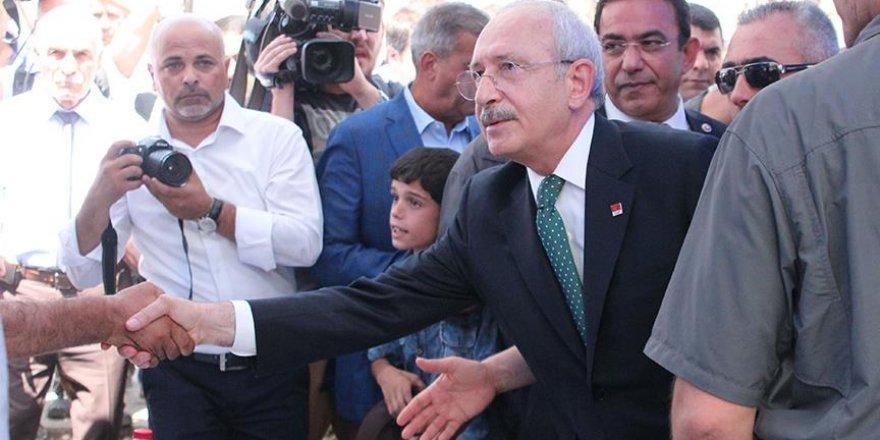 CHP Genel Başkanı Kılıçdaroğlu Gaziantep'te