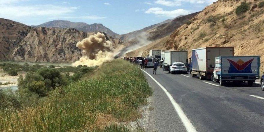 Hakkari-Van karayoluna döşenen patlayıcı imha edildi
